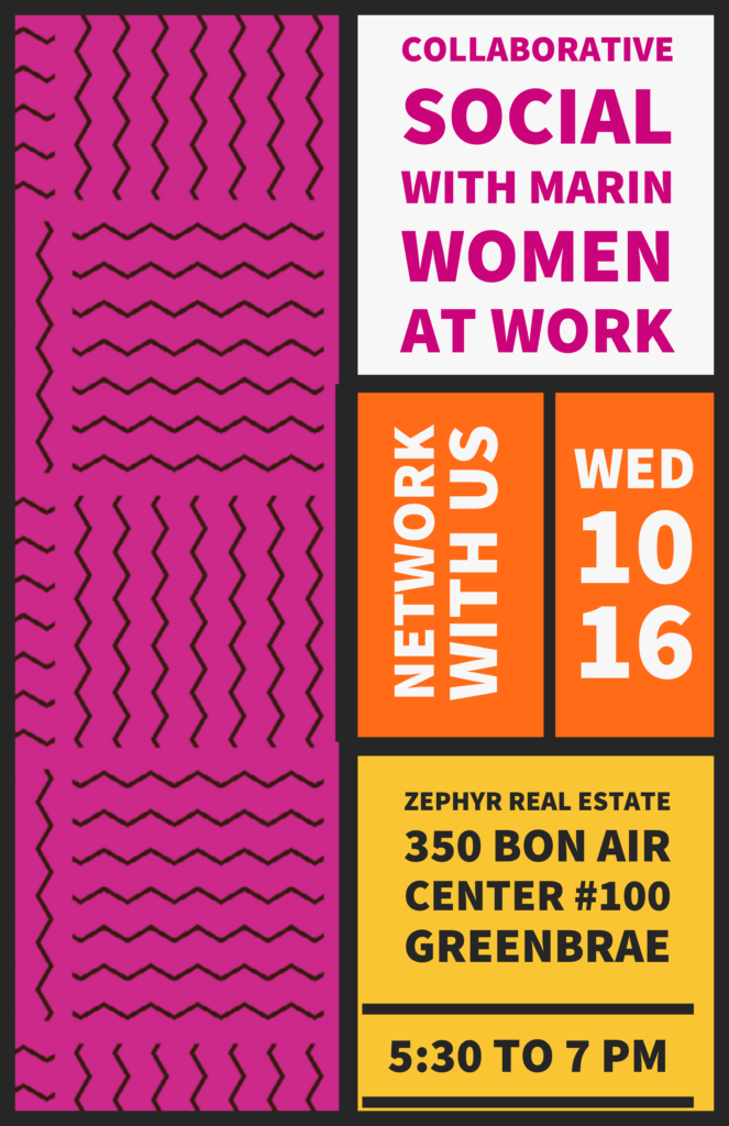 Collaborative Social With Marin Women at Work! @ Zephyr Real Estate