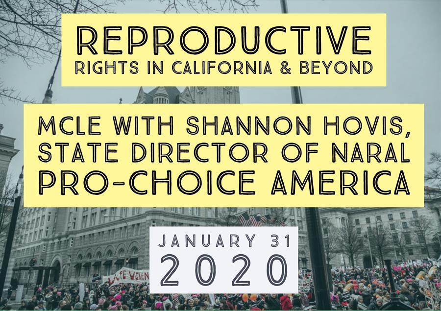 The Status of Reproductive Rights in CA Beyond @ Piatti's Restaurant